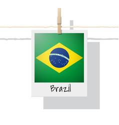 Photo of brazil flag vector
