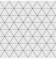 seamless pattern seamless geometric background vector image