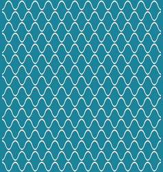 Teal amime japanese geometric pattern vector