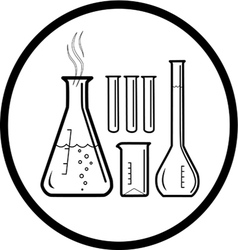 lab utensil icon vector image