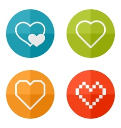 Set icons vector image vector image