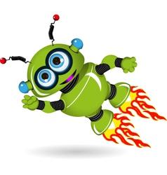Superrobot vector image vector image