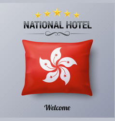 national hotel vector image