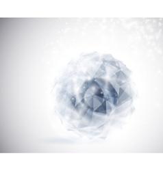 Precious crystal vector image vector image