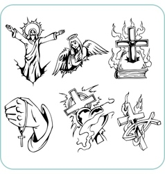 Christian religion - vector