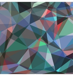Colorful Triangle Abstract Background vector image
