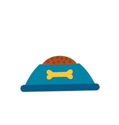 Dog food cap isolated icon vector image