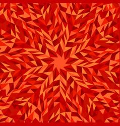 Dynamic hypnotic radial tiled pattern mosaic vector