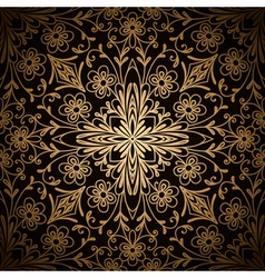 Gold pattern vector