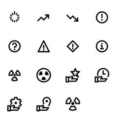 Interface feedback icons vector