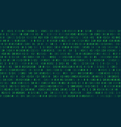 matrix background style computer virus and hacker vector image