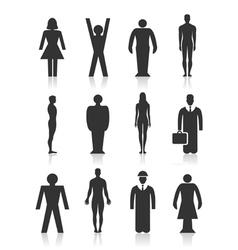 Icon the person vector image vector image