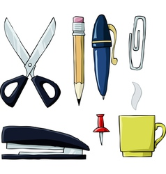 office symbol vector image vector image