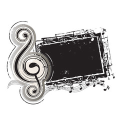 classic music vector image