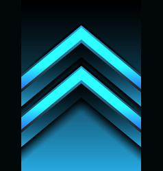 abstract blue light arrow direction 3d design vector image