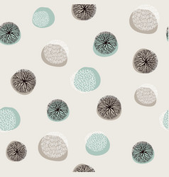 Abstract ocean decoration background pattern vector