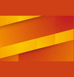 abstract orange yellow shape background vector image
