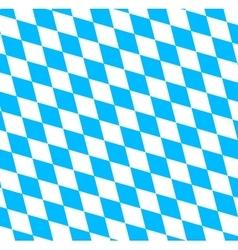 Bavarian Oktoberfest flag symbol vector