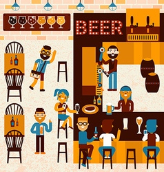 Beer Place vector
