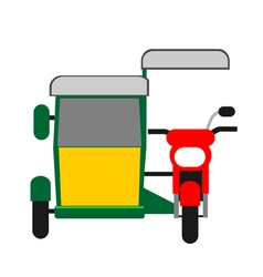 Philippine tricycle vector image