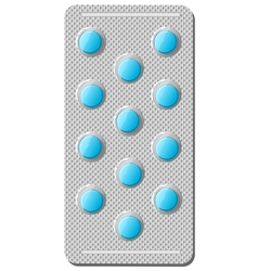 Realistic of pills vector