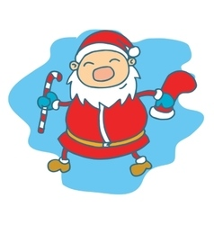 Santa Claus Christmas theme collection vector