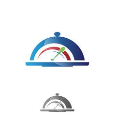 speed food vector image