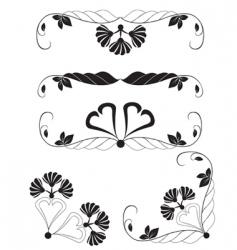 design elements vector image vector image