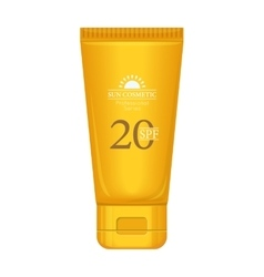 Sun Cream Professional Series vector image