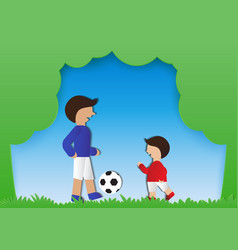 family activities vector image