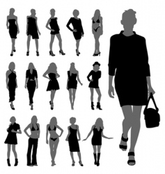 fashion women vector image vector image