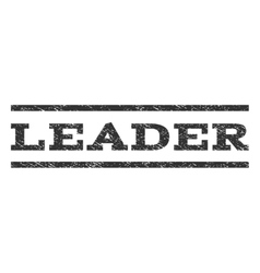 Leader Watermark Stamp vector