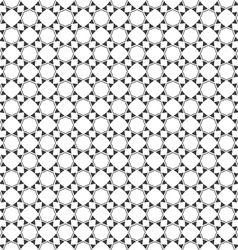Monochrome seamless pattern oriental style vector