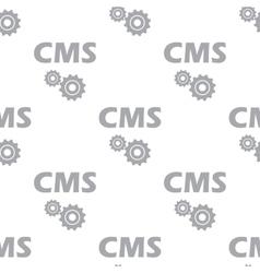 New Cms seamless pattern vector