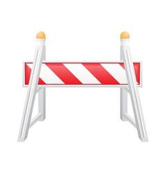 Road barrier 04 vector