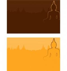 Buddhism vector image