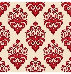 Seamless luxury Damask pattern vector image vector image