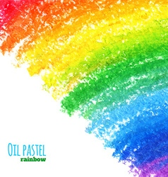 Oil pastel background vector image vector image