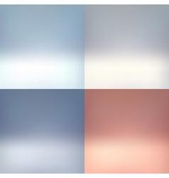 Empty photographer studio background Abstract set vector image vector image