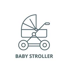 bastroller line icon bastroller vector image