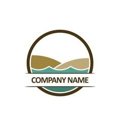 beach-logo vector image