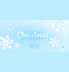 christmas and new year background with winter vector image