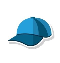 Isolated sport cap design vector