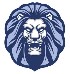 Lion head mascot vector