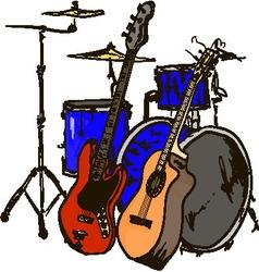 nstruments vector image