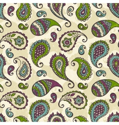 Paisley hand-drawn ornament vector image vector image