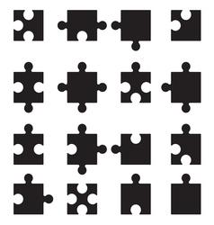 Puzzle set2 vector image