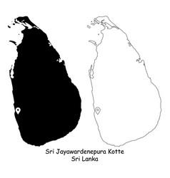 1171 sri jayawardenepura kotte sri lanka vector image