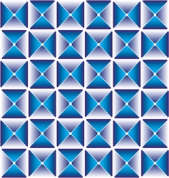 abstract cube pattern vector image
