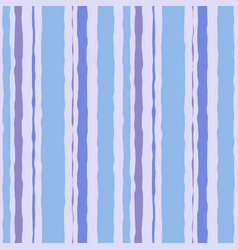 blue striped watercolor brush seamless pattern vector image